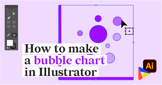 How to make a bubble chart in Adobe Illustrator with Datylon for Illustrator plug-in