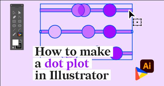 How to make a dot plot in Adobe Illustrator with Datylon for Illustrator