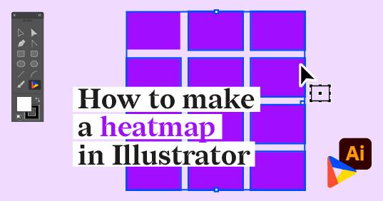 Illustrator Chalk Talk: How to make a heatmap in Illustrator